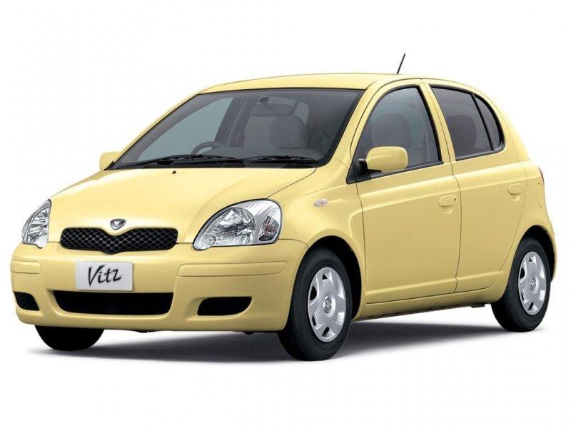 Молдинг на бампер Toyota Vitz NCP10 передний левый 52713-52050, 8854L