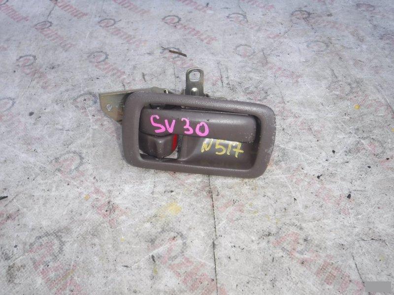 Ручка двери внутренняя Toyota Vista SV30 передняя правая (б/у) 517