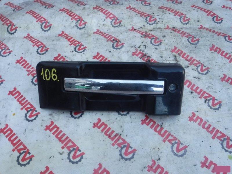 Ручка задней двери Isuzu Bighorn UBS73GW задняя (б/у)