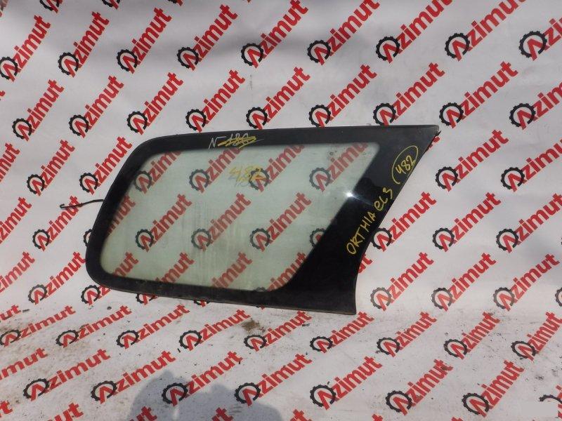 Стекло собачника Honda Orthia EL3 заднее правое (б/у)