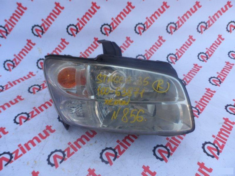 Фара Nissan Stagea HV35 правая (б/у) 10063871 10063871