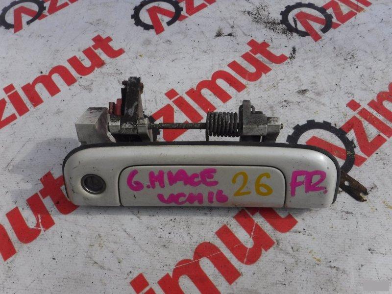 Ручка двери внешняя Toyota Grand Hiace VCH16W передняя правая (б/у) 26