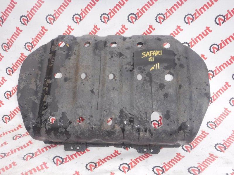 Защита топливного бака Nissan Safari WYY61 RD28ETI (б/у)