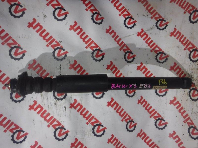 Амортизатор Bmw X-3 E83 M54B25 задний левый (б/у) 136