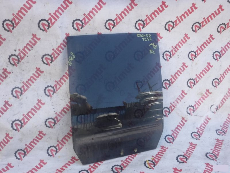 Стекло двери Suzuki Escudo TD52W заднее левое (б/у) 48
