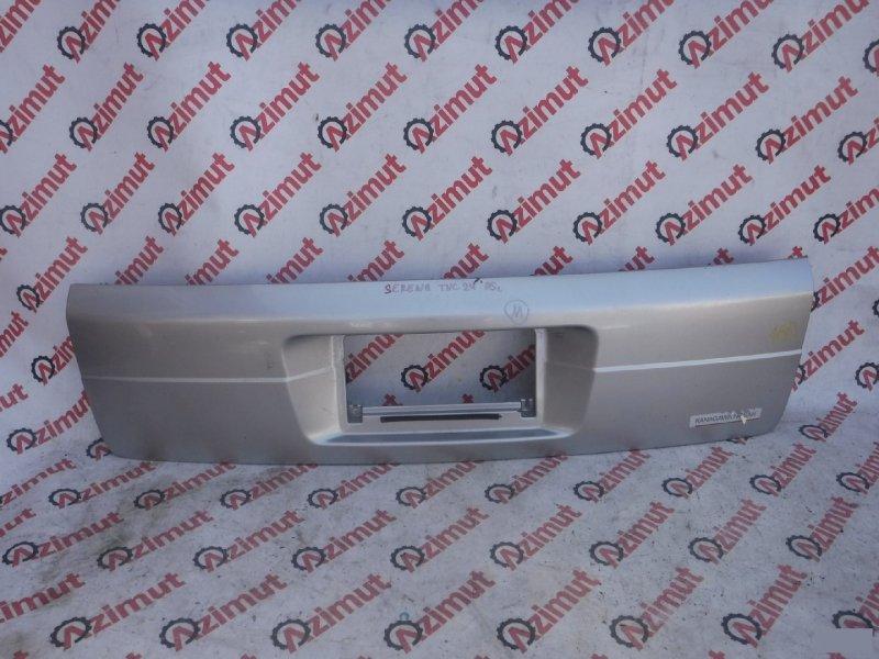 Накладка 5-й двери Nissan Serena PC24 задняя (б/у)
