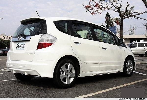 Губа Honda Fit GE6 задняя (б/у)