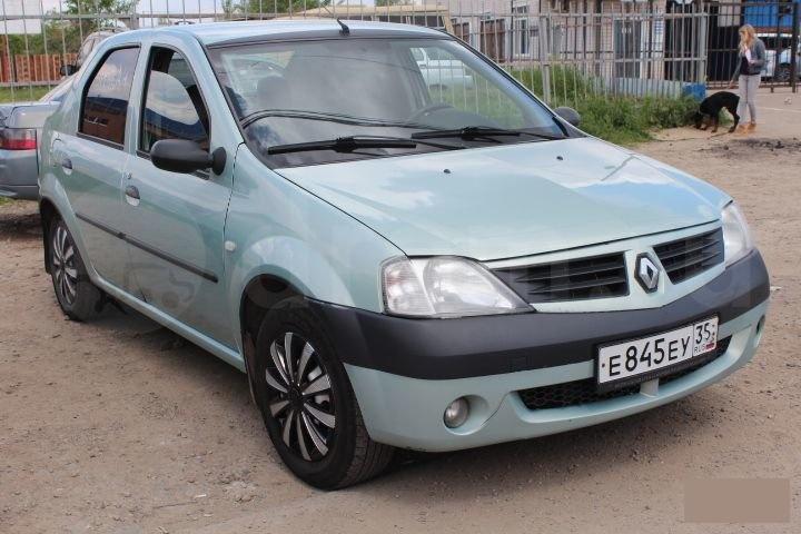 Фара Renault Logan LS0G левая 6001546789, 20-A646-05-2B