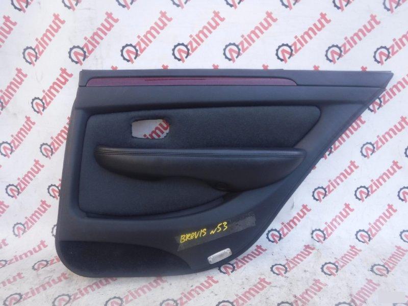 Обшивка дверей Toyota Brevis JCG10 задняя правая (б/у) 53
