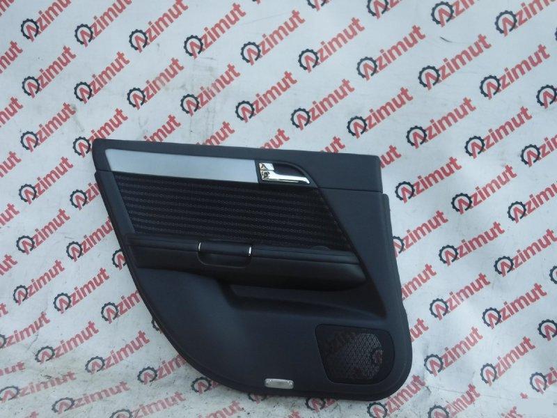 Обшивка дверей Nissan Fuga GY50 VQ35DE задняя левая (б/у)
