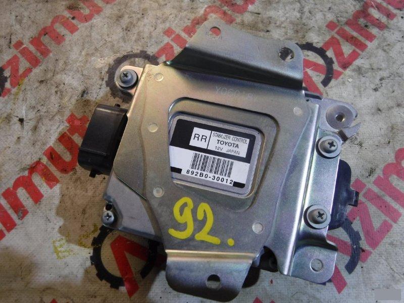 Блок управления подвеской Lexus Gs300 GRS190 2GRFXE (б/у) 92, Х 892B030012