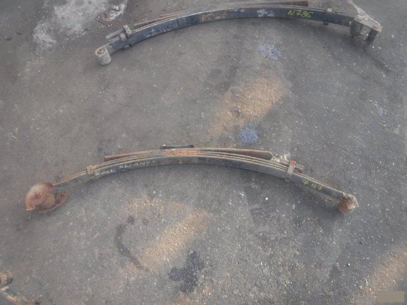 Рессоры Nissan Vanette задние левые (б/у)