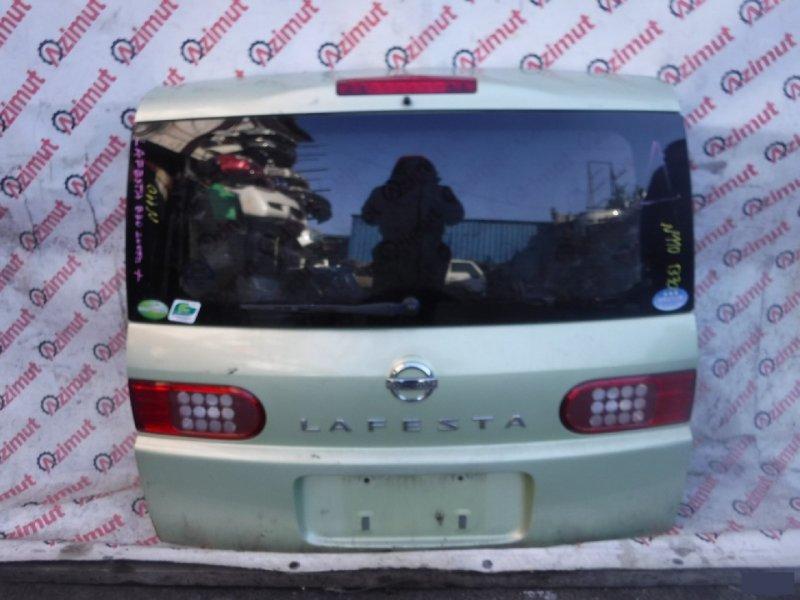 Дверь задняя Nissan Lafesta B30 (б/у) 110