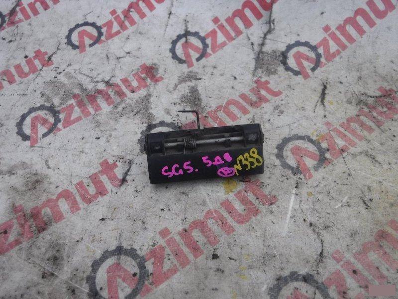 Ручка задней двери Subaru Forester SG5 задняя (б/у)