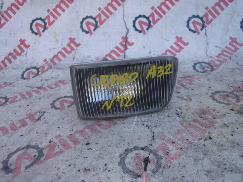 Туманка Nissan Cefiro A32 левая (б/у) 12063391