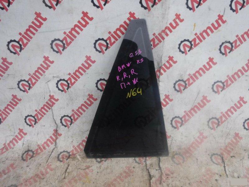 Форточка двери Bmw X5 E53 M54B30 задняя правая (б/у)