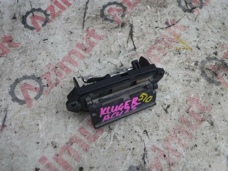 Ручка задней двери Toyota Kluger V ACU20W 2AZFE задняя (б/у)