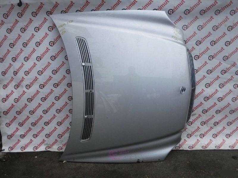 Капот Mercedes-Benz E-Class W211 M112E32 2002г. передний (б/у) 134