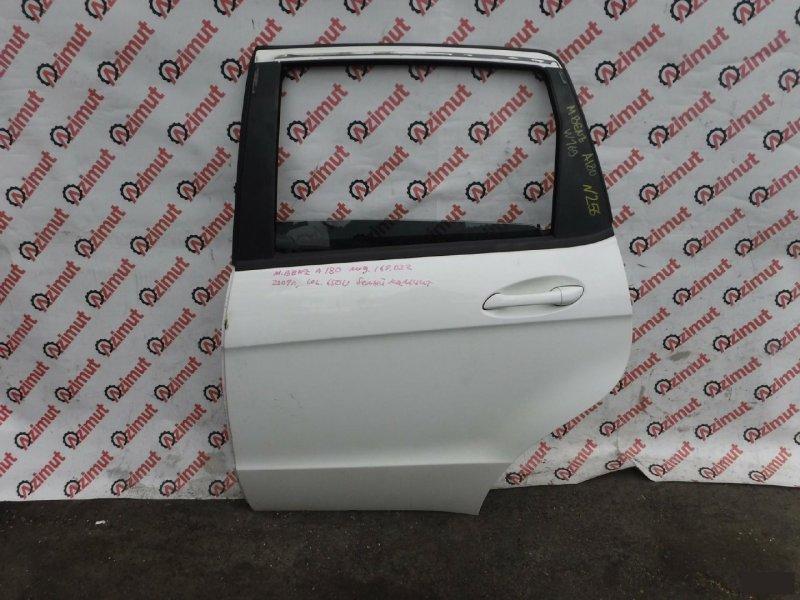Дверь Mercedes-Benz A-Class W169 M266E17 2009г. задняя левая (б/у)