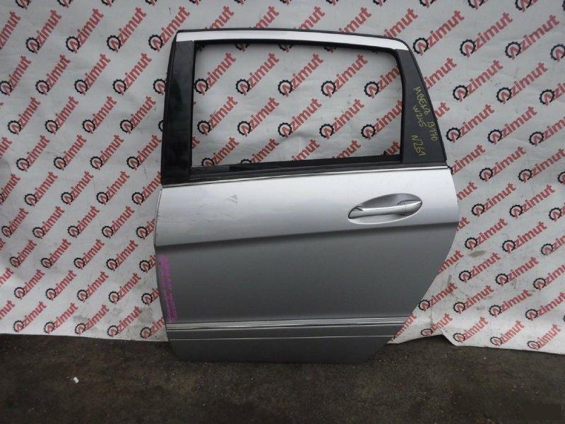 Дверь Mercedes-Benz B-Class W245 2007г задняя левая (б/у)