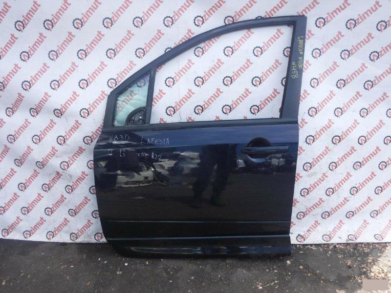 Дверь Nissan Lafesta B30 2004г. передняя левая (б/у) 458