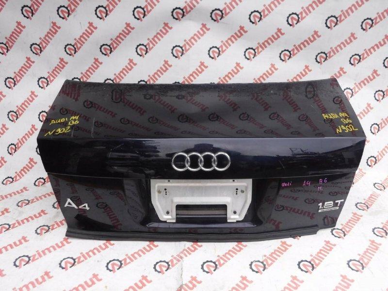 Крышка багажника Audi A4 B6 2002г. задняя (б/у)
