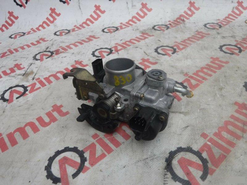 Заслонка дроссельная Suzuki Alto Lapin HE21S K6A (б/у) 830 27R1055