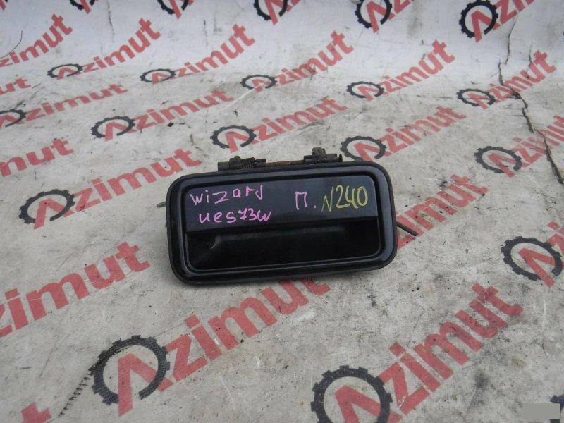 Ручка задней двери Isuzu Wizard UES73FW задняя (б/у) 240