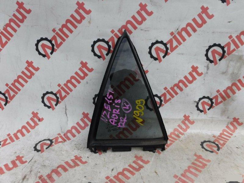 Форточка двери Toyota Auris NZE151H 1NZFE задняя правая (б/у)
