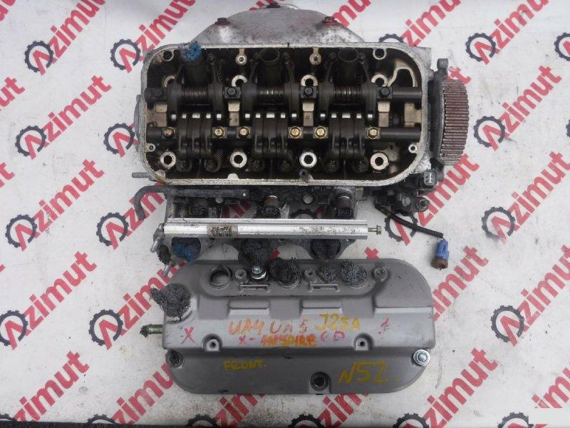Головка блока цилиндров Honda Inspire UA4 J25A 2000г передняя (б/у)