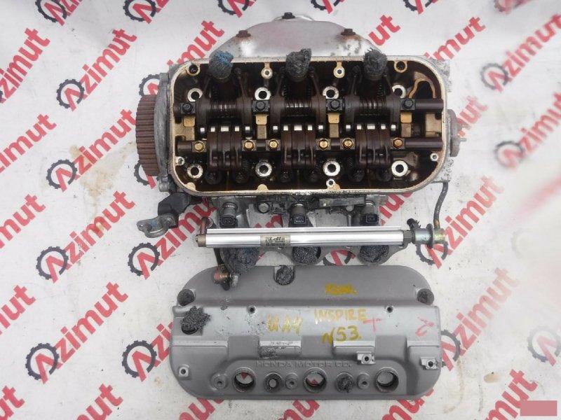Головка блока цилиндров Honda Inspire UA4 J25A 2000г задняя (б/у)