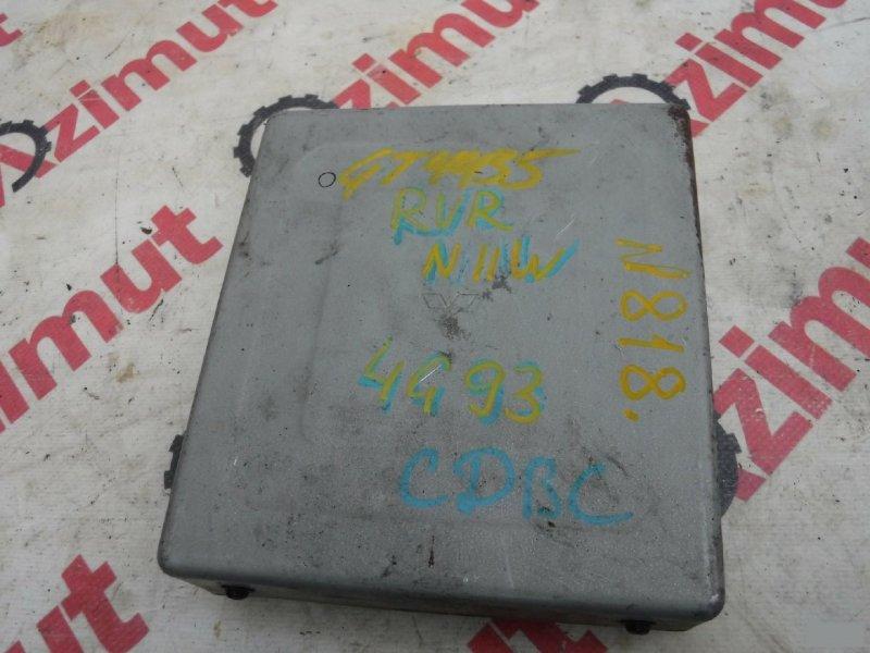 Блок управления efi Mitsubishi Chariot N11W 4G93 (б/у) 818 MD753880