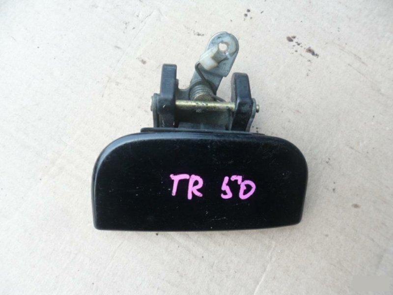 Ручка двери внешняя Nissan Terrano PR50 задняя левая (б/у)