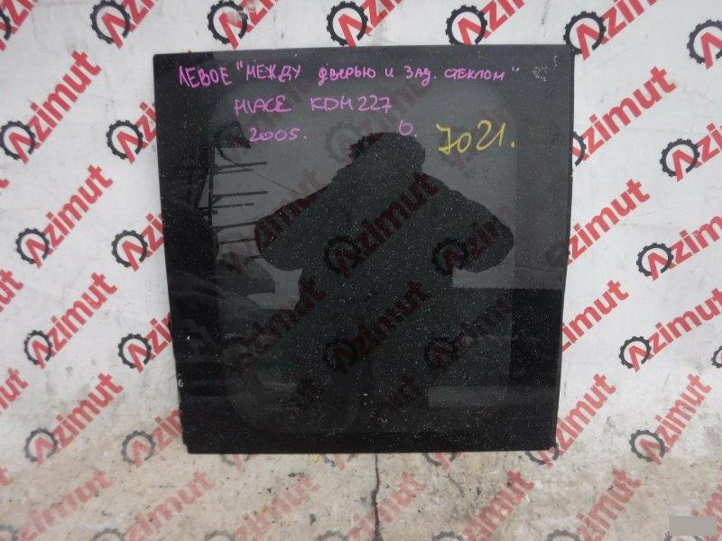 Стекло салона Toyota Hiace KDH227 2KDFTV заднее (б/у) 7021