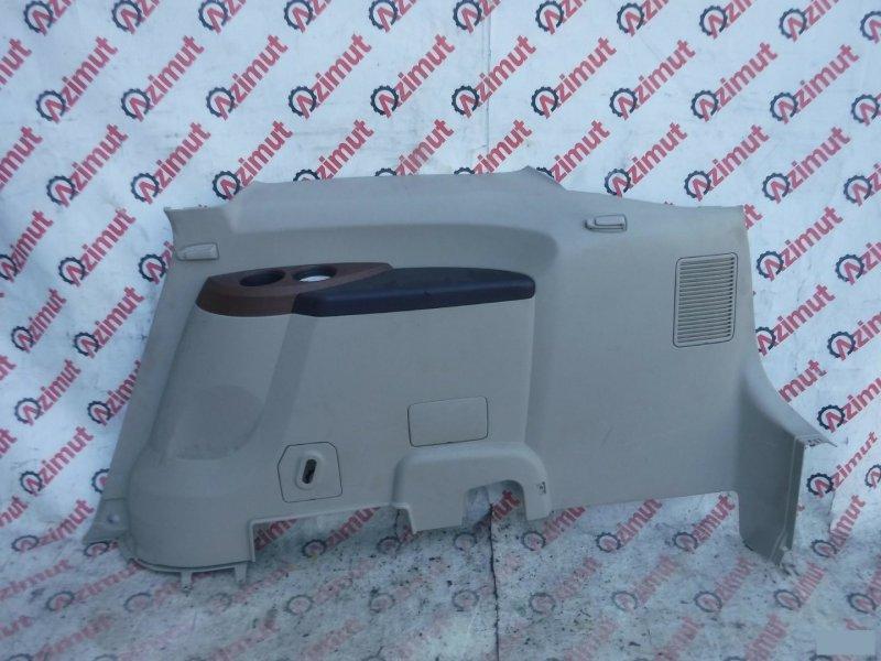 Обшивка багажника Mitsubishi Grandis NA4W задняя правая нижняя (б/у)