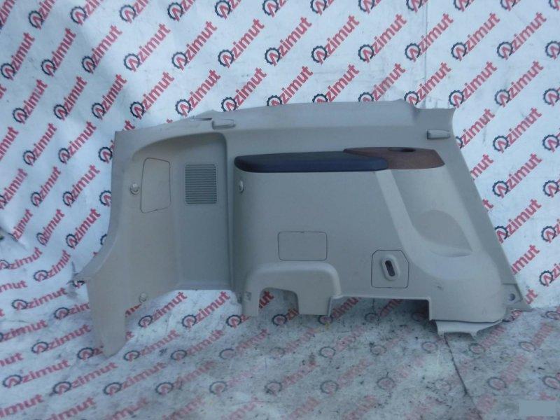 Обшивка багажника Mitsubishi Grandis NA4W задняя левая нижняя (б/у)