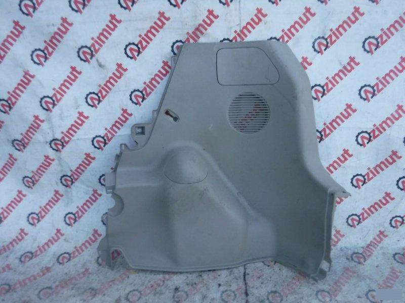 Обшивка багажника Toyota Porte NNP11 задняя правая нижняя (б/у)