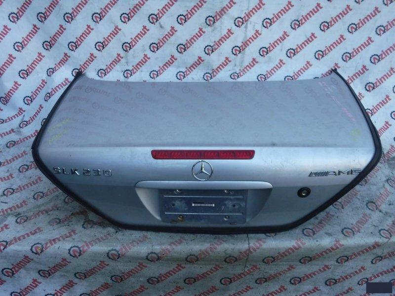 Крышка багажника Mercedes-Benz Slk-Class R170 M111E23ML 1999 (б/у) 407