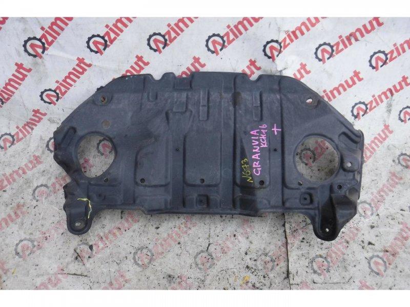 Защита двигателя Toyota Granvia KCH16 передняя (б/у) 673