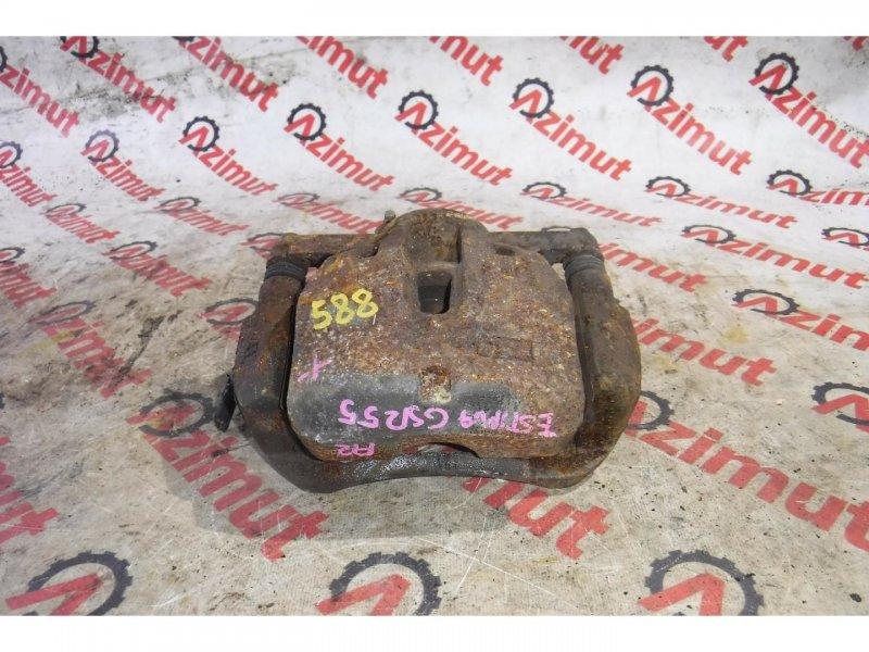 Суппорт Toyota Estima GSR55 2GRFE передний правый (б/у)
