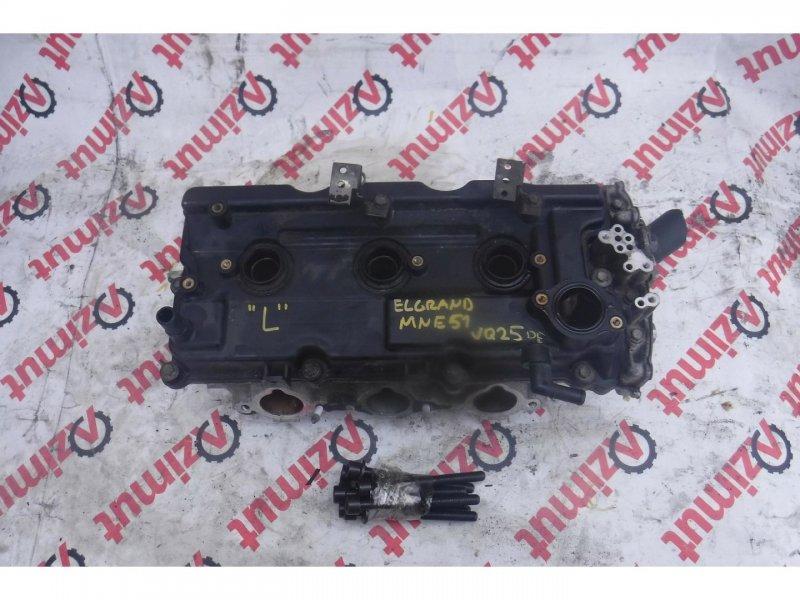 Головка блока цилиндров Nissan Elgrand MNE51 VQ25DE левая (б/у)