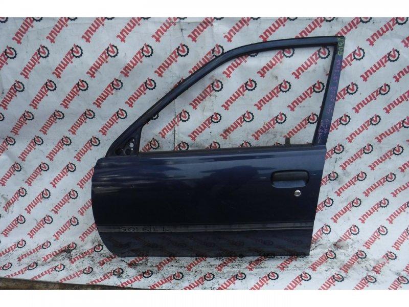Дверь Toyota Starlet EP82 1995г. передняя левая (б/у)