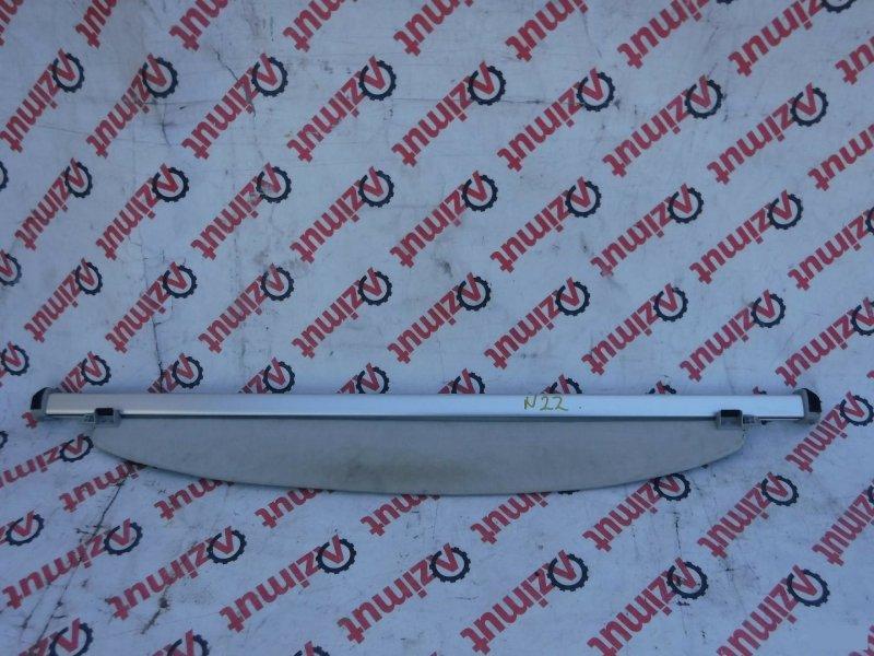 Шторка багажника Toyota Prius NHW20 1NZFXE 2003г. задняя (б/у) 22
