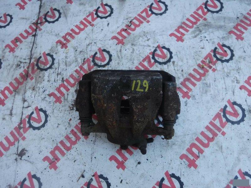 Суппорт Toyota Auris NZE181 1NZFE передний правый (б/у)
