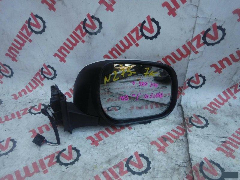 Зеркало Toyota Porte NNP10 2007г. переднее правое (б/у)