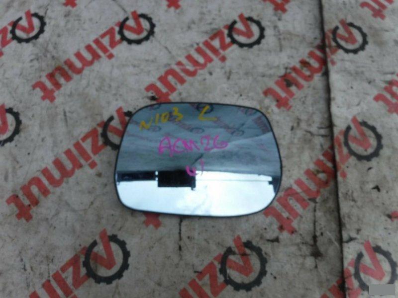 Зеркало-полотно Toyota Ipsum ACM26W переднее левое (б/у) 103