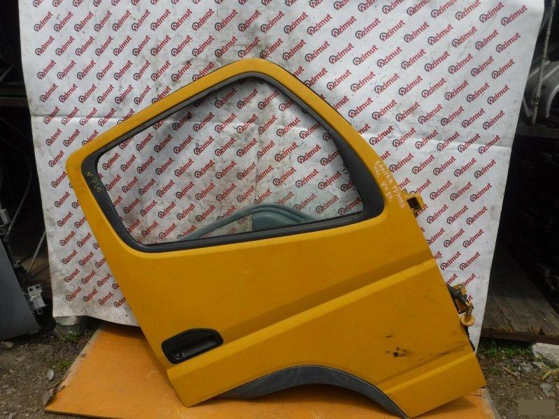 Дверь Mitsubishi Canter FD70AB 2002 передняя правая (б/у) 750