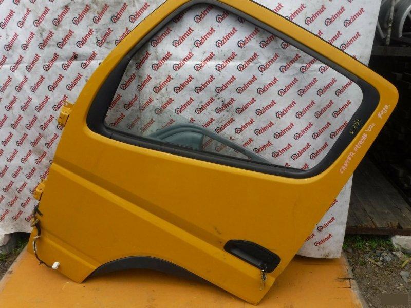 Дверь Mitsubishi Canter FD70AB 2002 передняя левая (б/у) 751