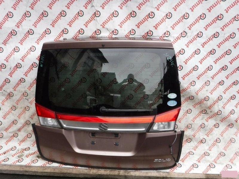 Дверь задняя Suzuki Solio MA15S 2011г задняя (б/у) 214