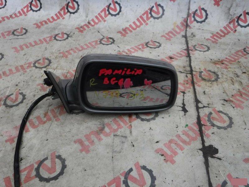 Зеркало Mazda Familia BG6R переднее правое (б/у)